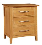 3 Drawer Night Stand Product Image