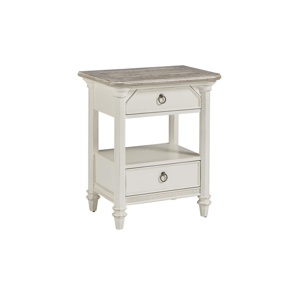 Summer Creek Echo Lake Bedside Tier Table