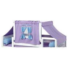 Top Tent Fabric (Twin) : Purple/Light Blue/Hot Pink