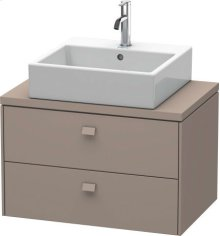 Brioso Vanity Unit For Console Compact, Basalt Matt (decor)