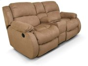 Hali Double Rocking Reclining Loveseat Console 2010-90 Product Image