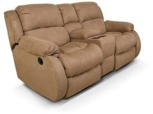 Hali Double Rocking Reclining Loveseat Console 2010-90