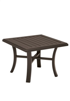 "Banchetto 30"" Square End Table"