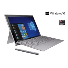 "Galaxy Book2 12"", 128GB, Silver (AT&T), S Pen and Keyboard included"