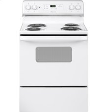 "Hotpoint® 30"" Free-Standing Standard Clean Electric Range"