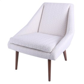 Enzo KD Fabric Accent Chair, Icy Leafage Beige