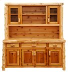Buffet & Hutch - 75-inch - Natural Cedar Product Image