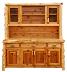"Buffet & Hutch - 75"" 75-inch, Natural Cedar"