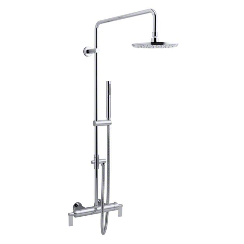 Gunmetal One™ Exposed Shower Set