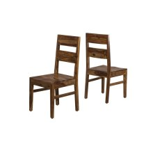 Emerson Wood Dining Chair - Set of 2 - Natural