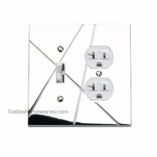 Modernist Combo Switch Outlet Plate