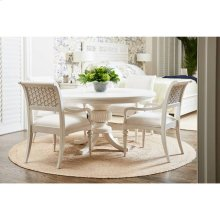 """Cypress Grove 54"""" Round Dining Table - Parchment"""