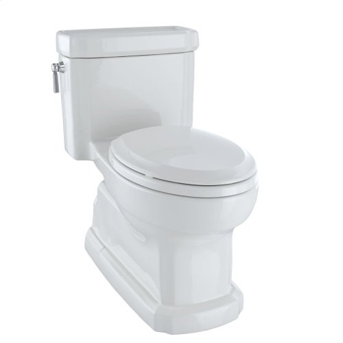Eco Guinevere® One-Piece Toilet, 1.28 GPF, Elongated Bowl - Colonial White