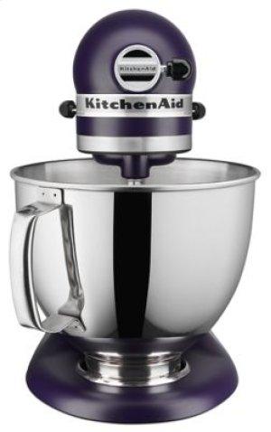 Artisan® Series 5 Quart Tilt-Head Stand Mixer - Matte Black Violet