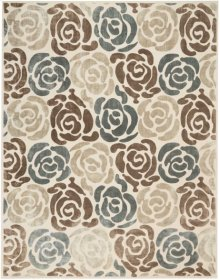 Christopher Guy Wool & Silk Collection Cgs20 Mediterranean Sand Round Rug 6' X 6'