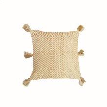 18X18 Hand Woven Breanne Pillow Gold