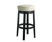 Cedric Swivel Barstool - Cream