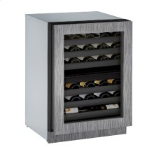 """Modular 3000 Series 24"""" Wine Captain® Model With Integrated Frame Finish and Field Reversible Door Swing (115 Volts / 60 Hz)"""