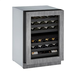 "U-LineModular 3000 Series 24"" Wine Captain(r) Model With Integrated Frame Finish and Field Reversible Door Swing (115 Volts / 60 Hz)"