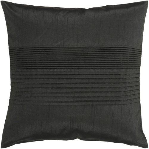 """Solid Pleated HH-027 18"""" x 18"""" Pillow Shell with Polyester Insert"""