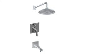 Contemporary Pressure Balancing Shower System (Rough & Trim)