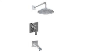 Contemporary Pressure Balancing Shower System (Rough & Trim)