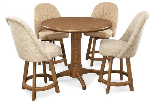 Table Top: Round (chestnut)