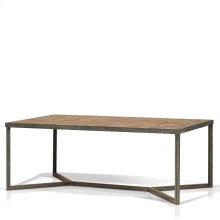 Ripley Parquet Top Rectangular Coffee Table