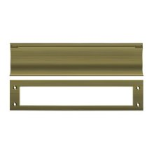 Mail Slot, HD - Antique Brass