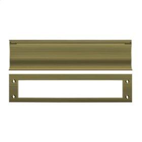 Mail Slot, HD - Antique Brass