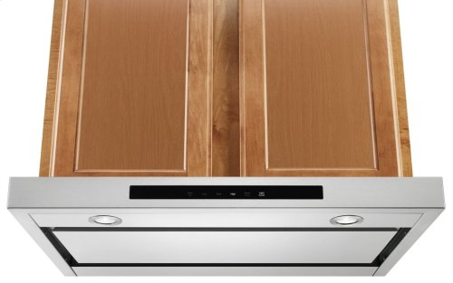 """30"""" Low Profile Under-Cabinet Ventilation Hood - Stainless Steel"""