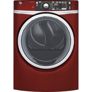 GE ®8.3 Cu. Ft. Capacity Front Load Gas Energy Star® Dryer With Steam