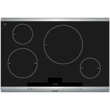 800 Series 30 Induction Cooktop with SteelTouch Control and AutoChef Stainless Steel Strips