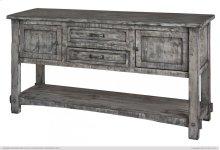 Sofa Table w/ 2 drawers, 2 doors