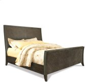 Joelle King/California King Sleigh Headboard Carbon Gray finish