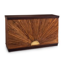Sunburst Two-Door Cabinet