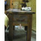 Barnwood Night Stand 1 Drawer Product Image
