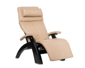 Perfect Chair PC-600 Omni-Motion Silhouette - Ivory Premium Leather - Matte Black