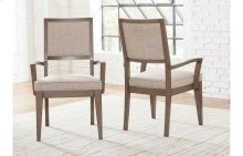 Apex Upholstered Back Arm Chair