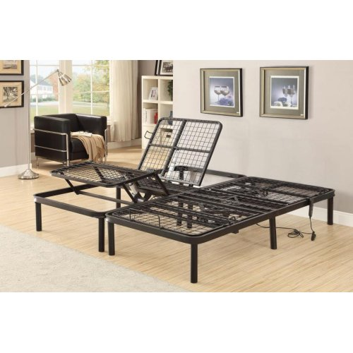 Stanhope Black Adjustable Full Bed Base