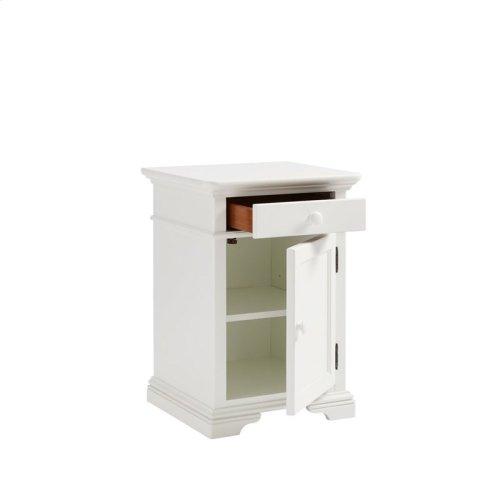 Teaberry Lane Stardust Bedside Cabinet
