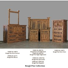 Rough Cut Bedroom Collections New
