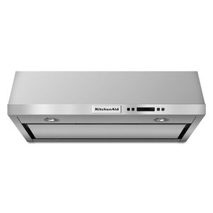30'' Under-the-Cabinet, 4-Speed System - Stainless Steel