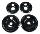 Replacement Burner Bowls - 4 Pack - Black Product Image