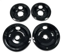 Replacement Burner Bowls - 4 Pack - Black