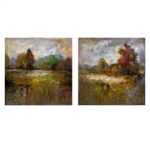 Guennola Oil Painting - Set of 2