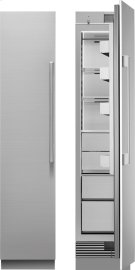 "18"" Inch Built-In Freezer Column (Left Hinged) Product Image"