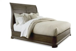St. Germain Eastern King Platform Sleigh Bed