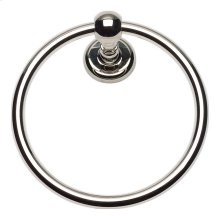 Emma Bath Towel Ring - Polished Nickel