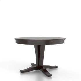 Round table with pedestal